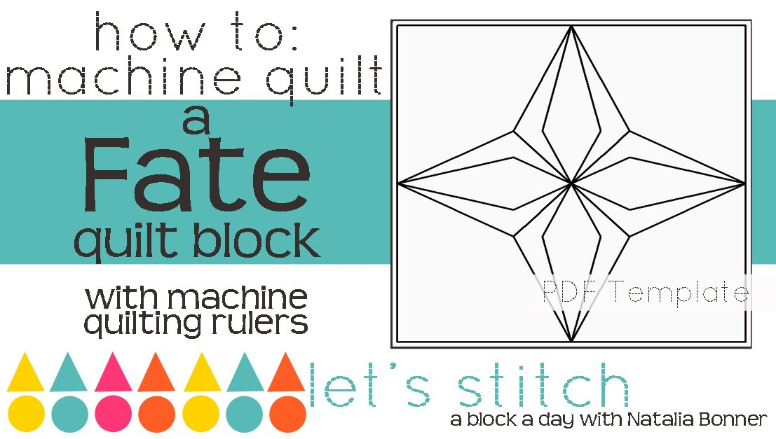 Let's Stitch - A Block a Day With Natalia Bonner - PDF - Fate