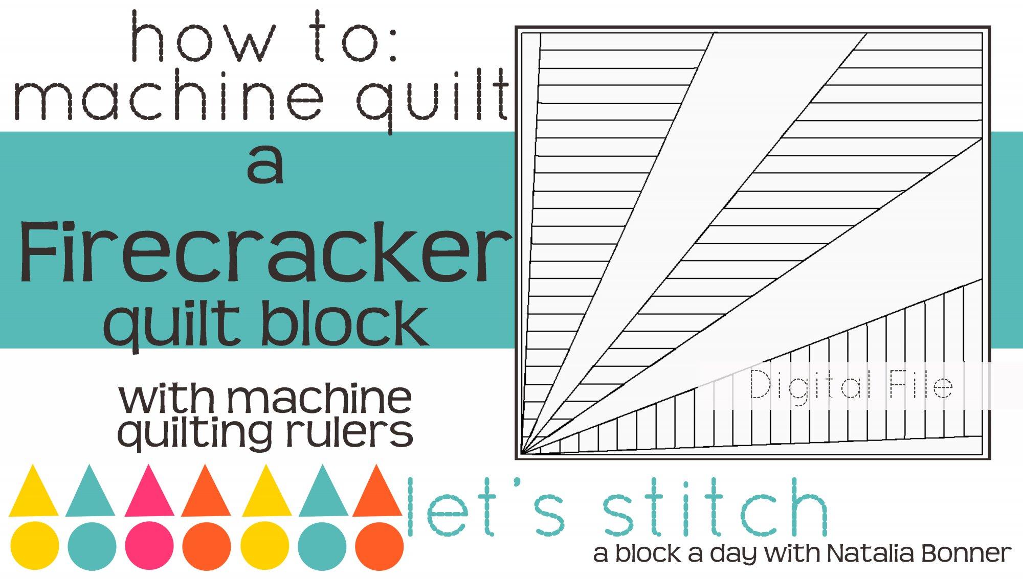 Firecracker 6 Block - Digital