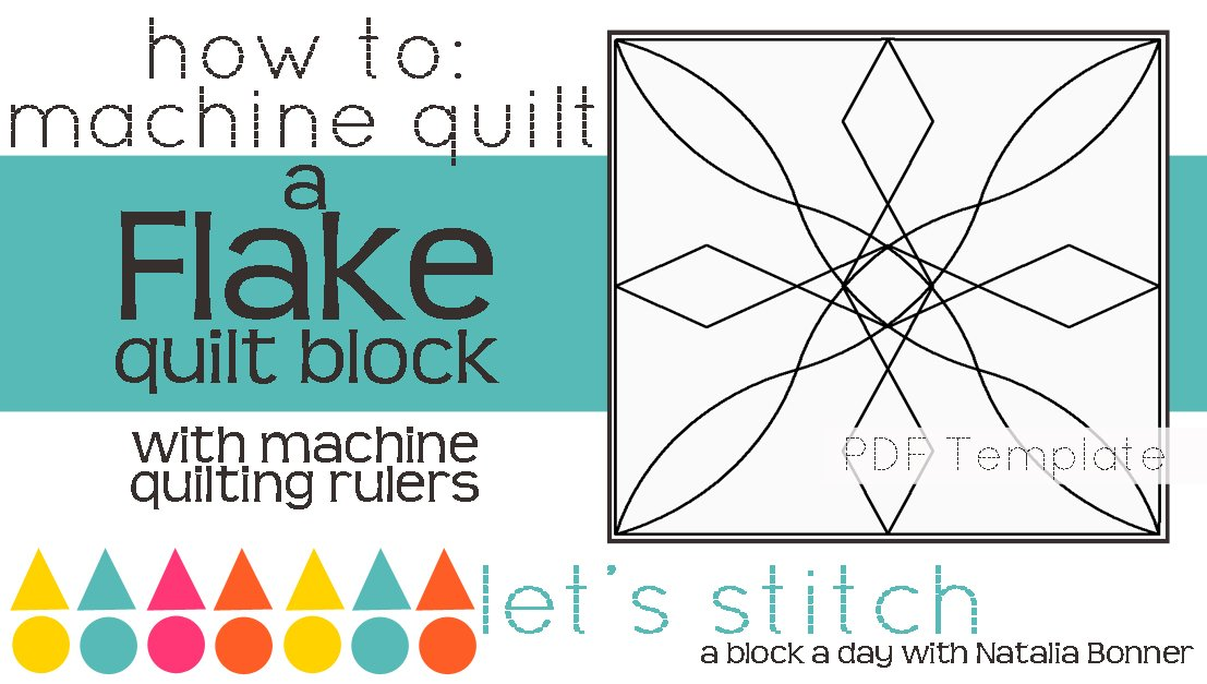 Let's Stitch - A Block a Day With Natalia Bonner - PDF - Flake