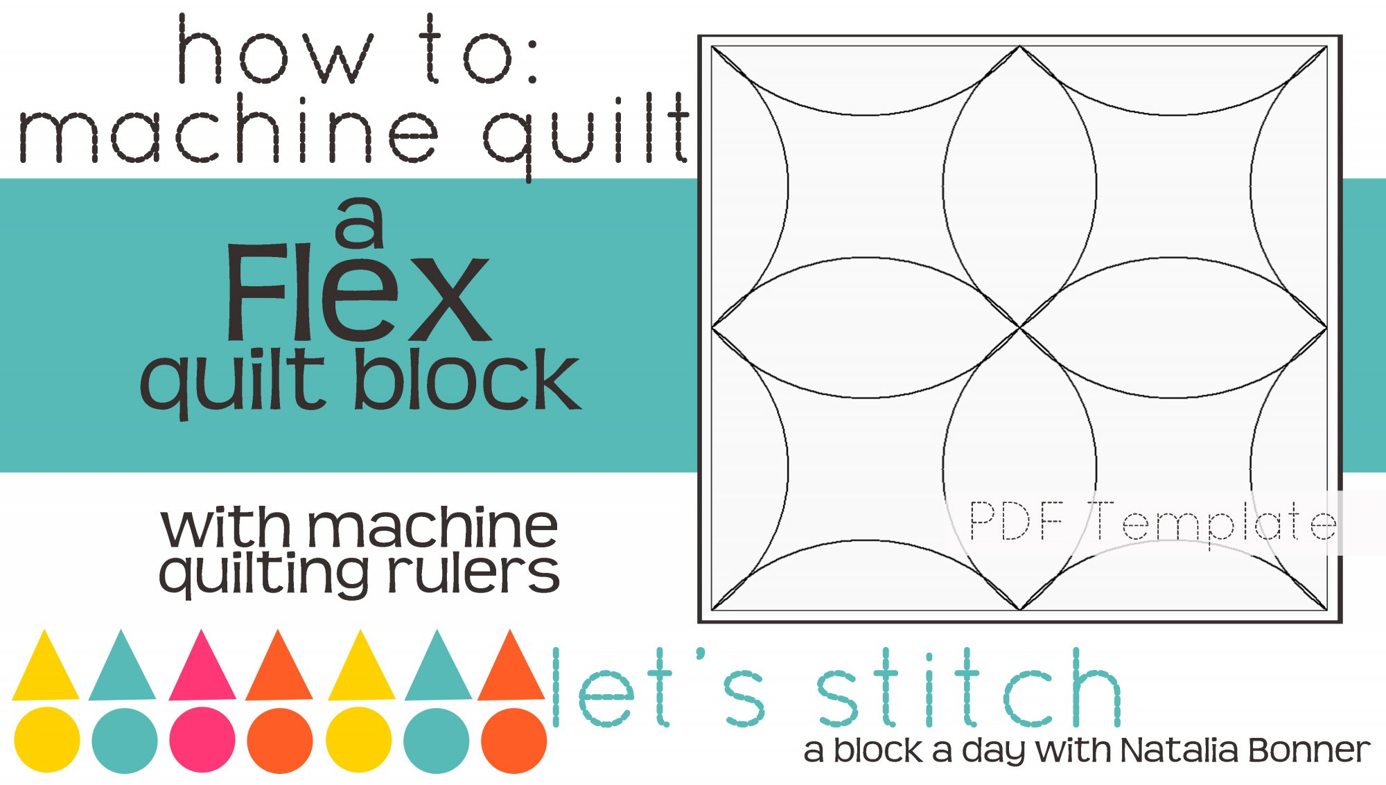 Let's Stitch - A Block a Day With Natalia Bonner - PDF - Flex