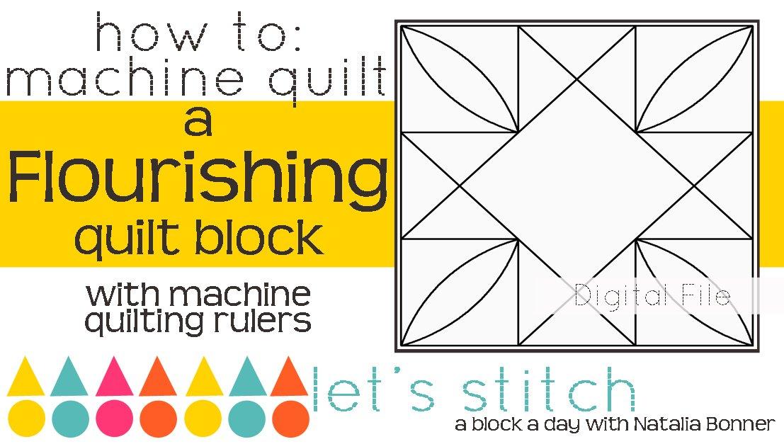 Flourishing 6 Block - Digital