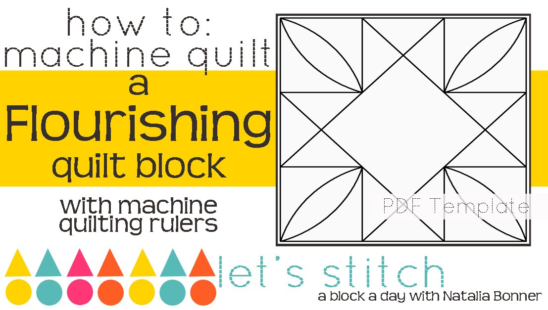 Let's Stitch - A Block a Day With Natalia Bonner - PDF - Flourishing