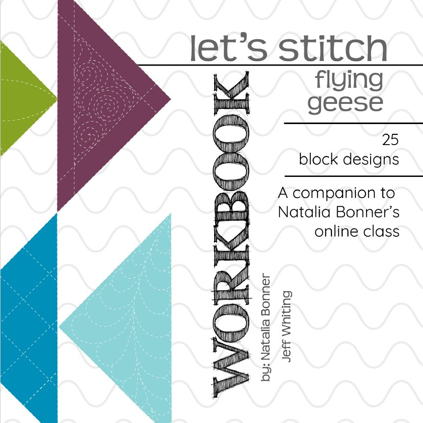 Let's Stitch - Flying Geese - Workbook
