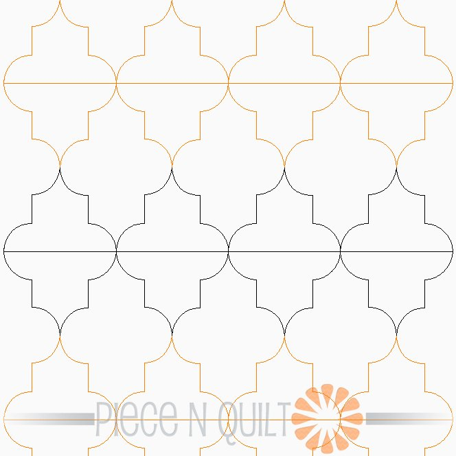 Foil Pantograph Pattern - Digital