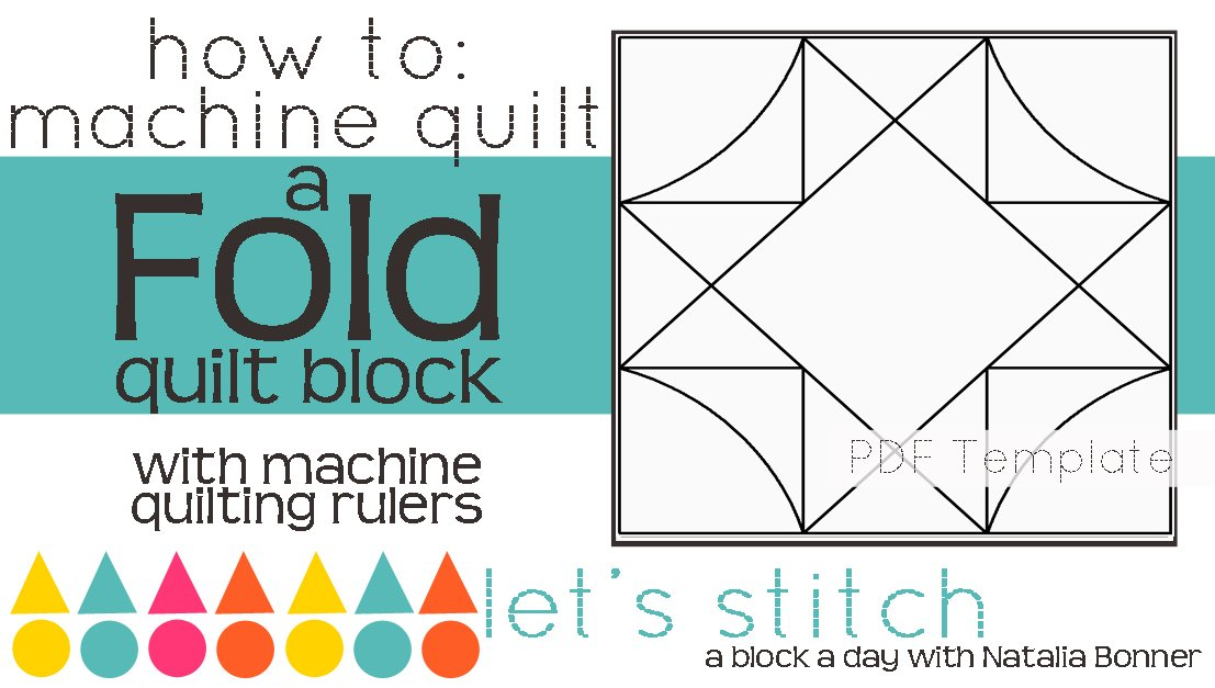 Let's Stitch - A Block a Day With Natalia Bonner - PDF - Fold