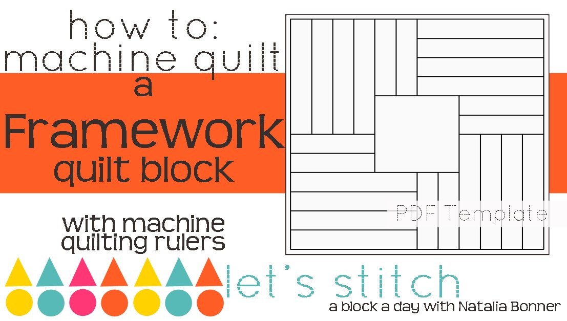 Let's Stitch - A Block a Day With Natalia Bonner - PDF - Framework
