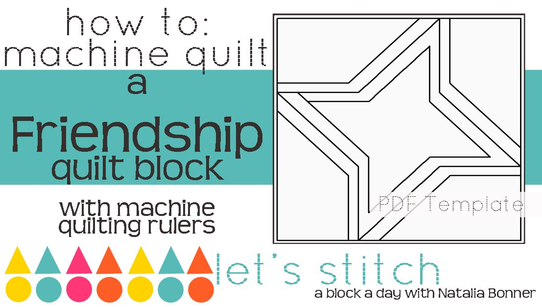 Let's Stitch - A Block a Day With Natalia Bonner - PDF - Friendship