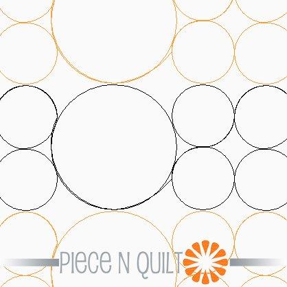 Geometric Pearls Pantograph Pattern - Paper