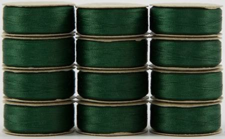 Super Bobs - The Bottom Line Bobbins - L Style - Green - 12ct