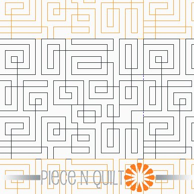 Hang Up Pantograph Pattern - Digital
