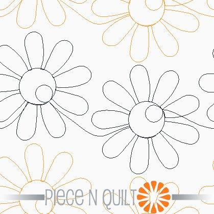 Happy Dais Pantograph Pattern - Paper