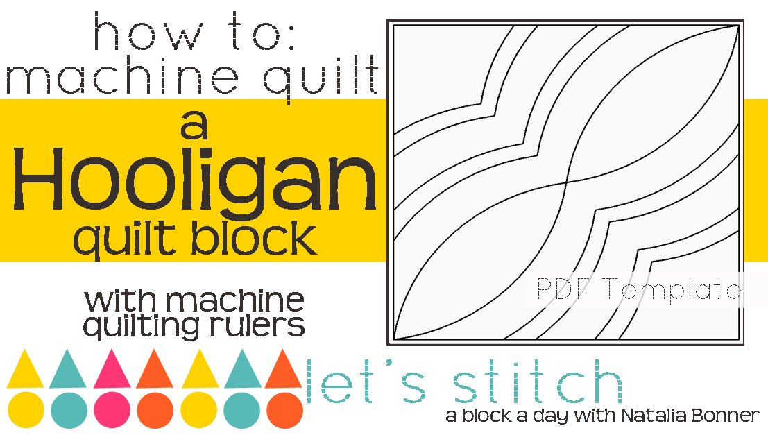 Let's Stitch - A Block a Day With Natalia Bonner - PDF - Hooligan
