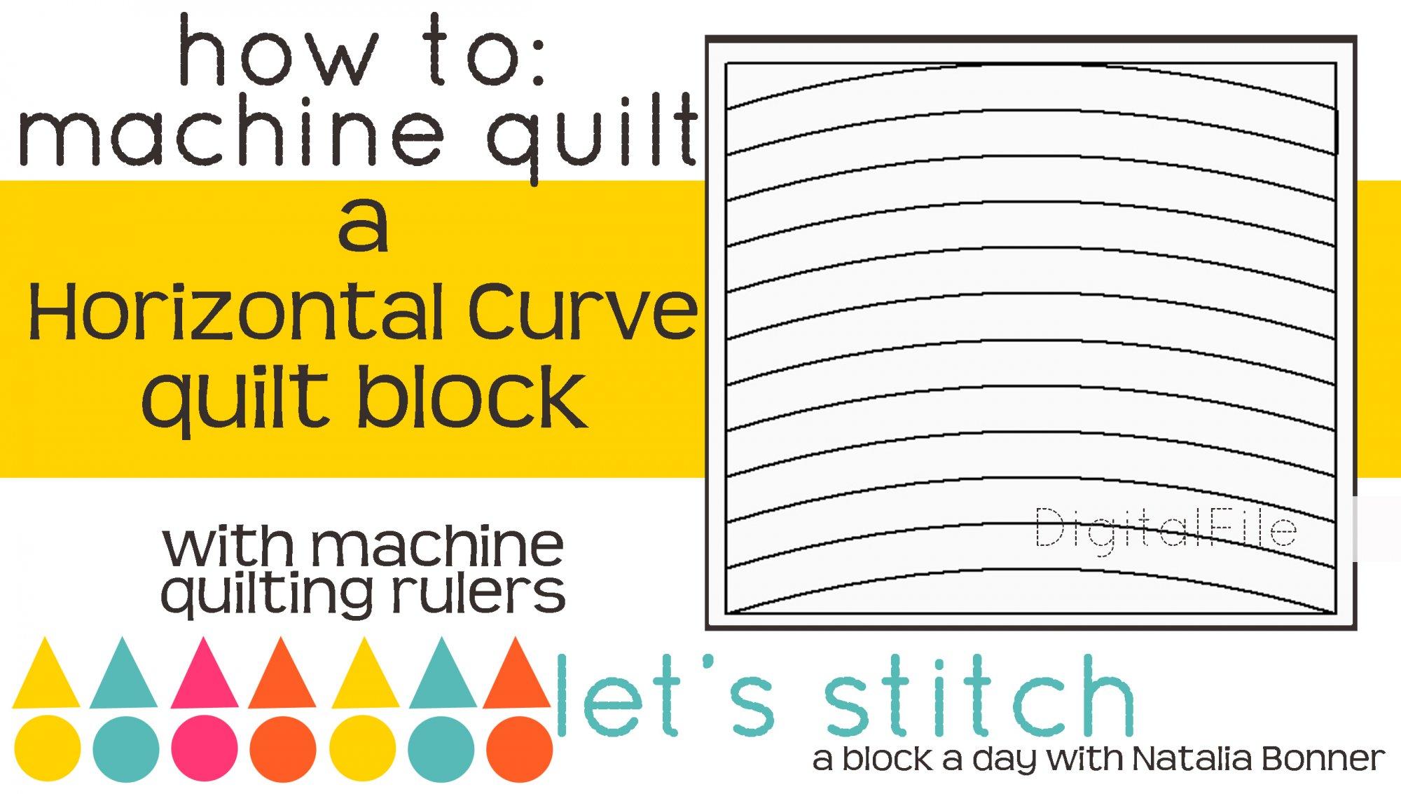 Horizontal Curve 6 Block - Digital