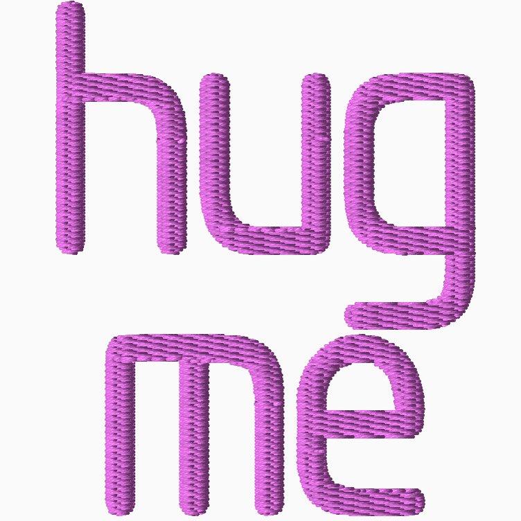 Hug Me Ebroidery