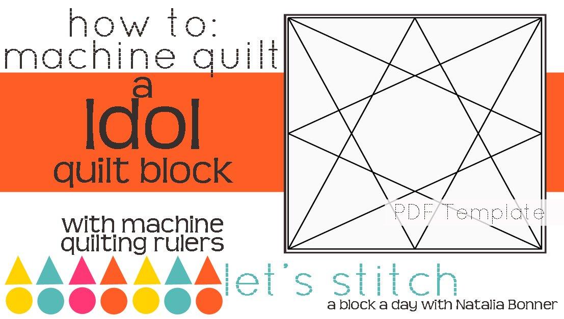 Let's Stitch - A Block a Day With Natalia Bonner - PDF - Idol