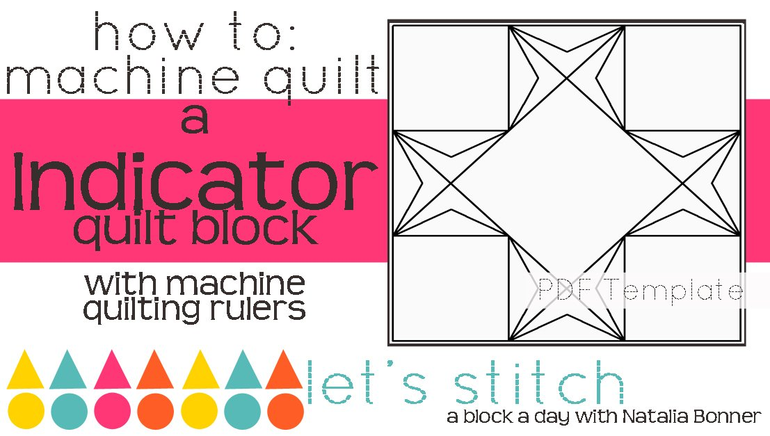 Let's Stitch - A Block a Day With Natalia Bonner - PDF - Indicator