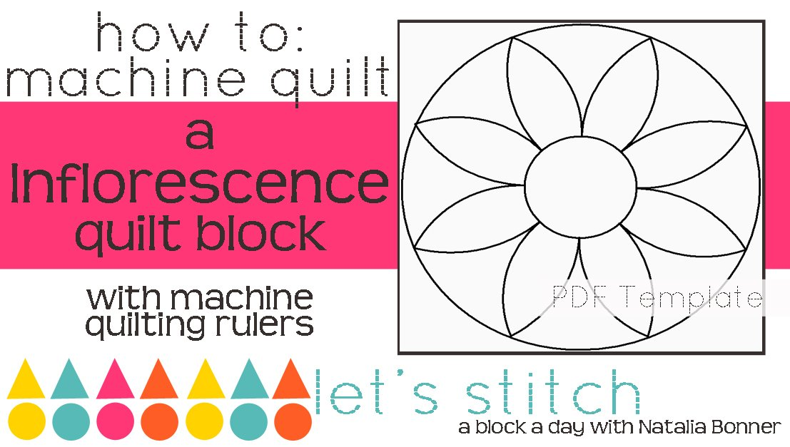 Let's Stitch - A Block a Day With Natalia Bonner - PDF - Inflorescence