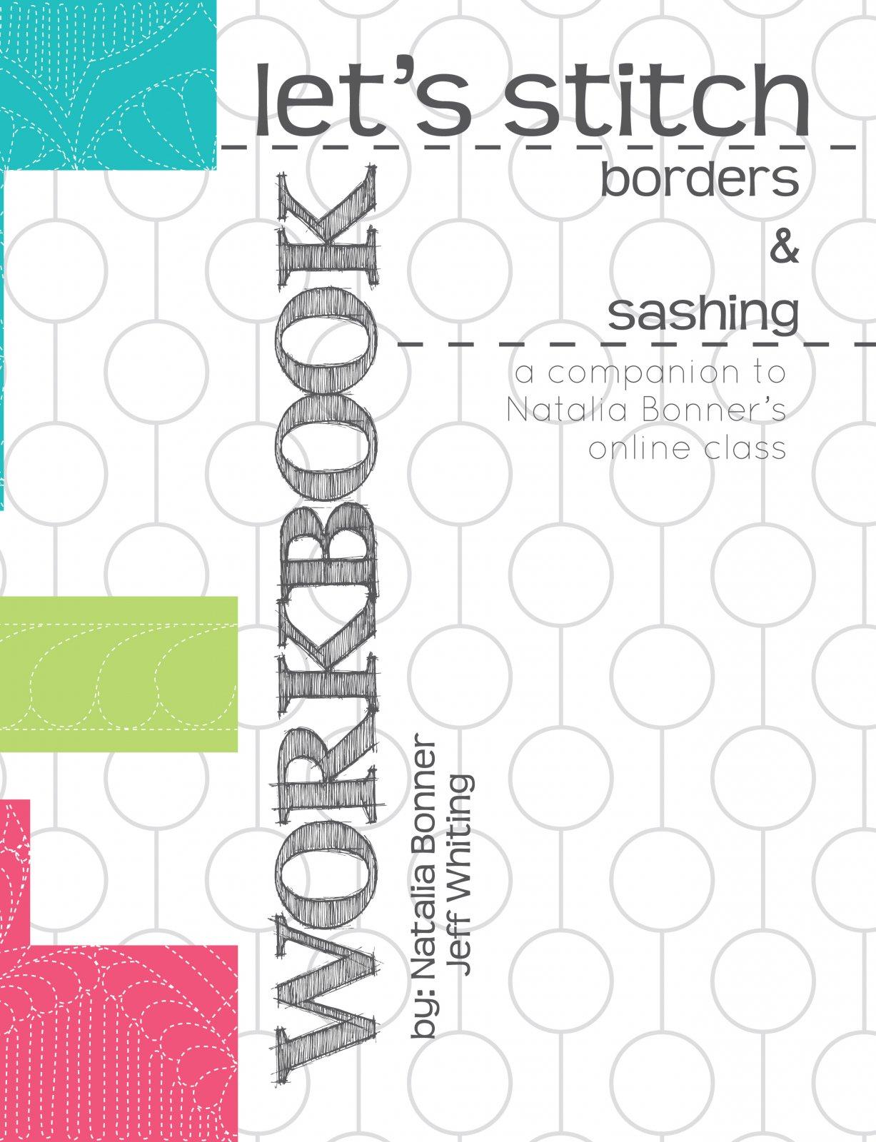 Let's Stitch Borders & Sashing Design Workbook