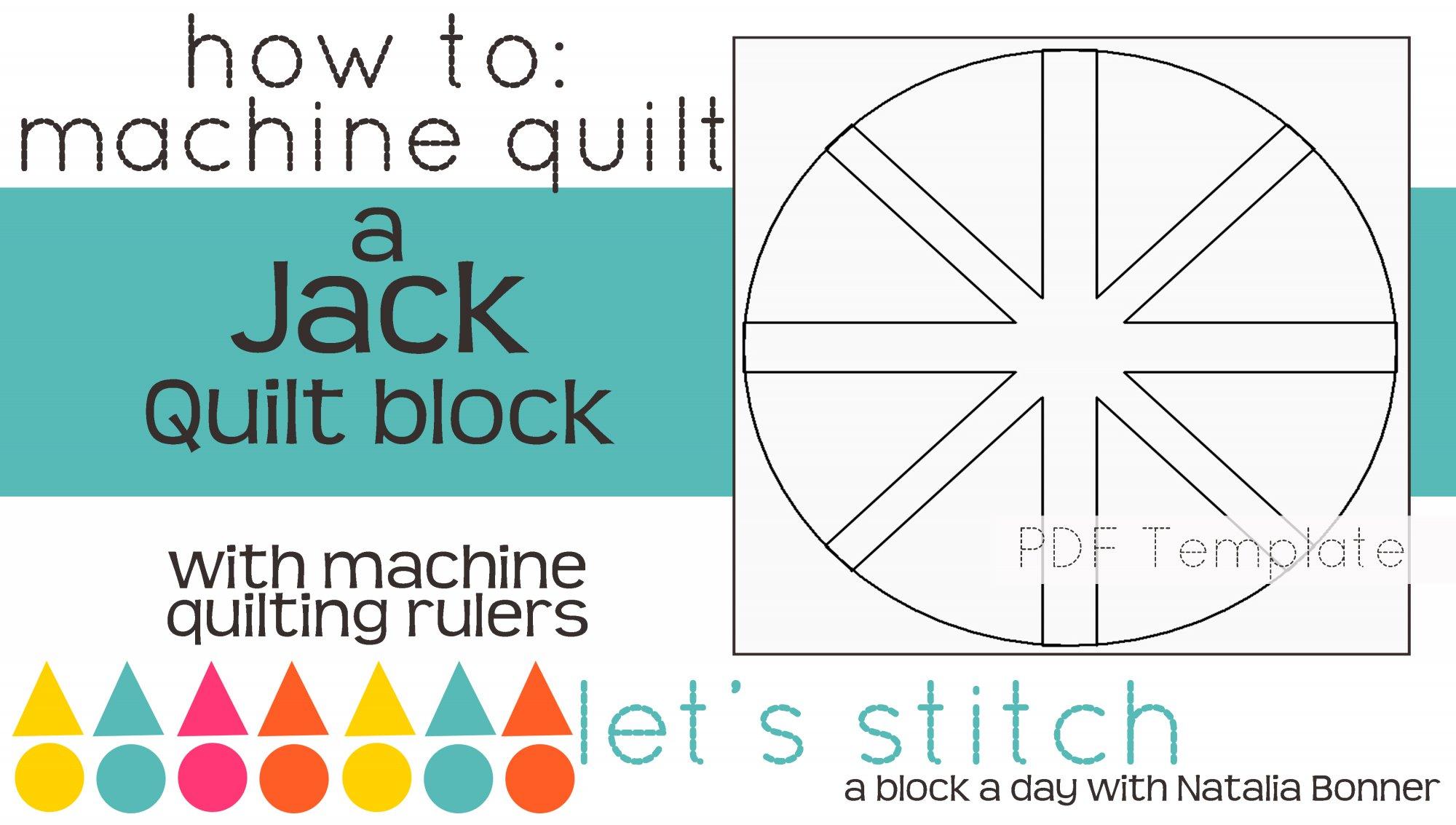 Let's Stitch - A Block a Day With Natalia Bonner - PDF - Jack