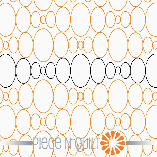 Jewel Pantograph Pattern - Digital