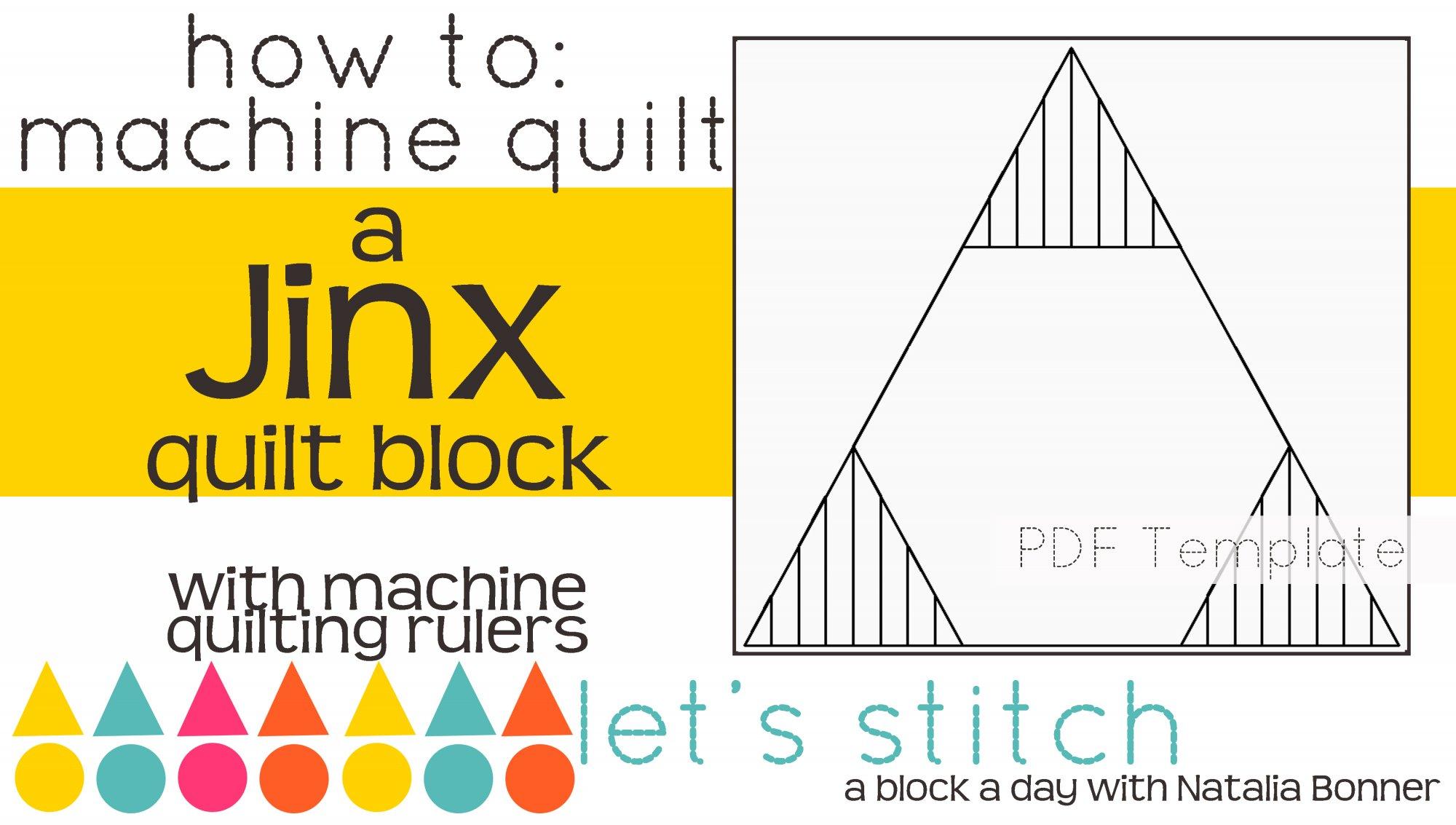 Let's Stitch - A Block a Day With Natalia Bonner - PDF - Jinx