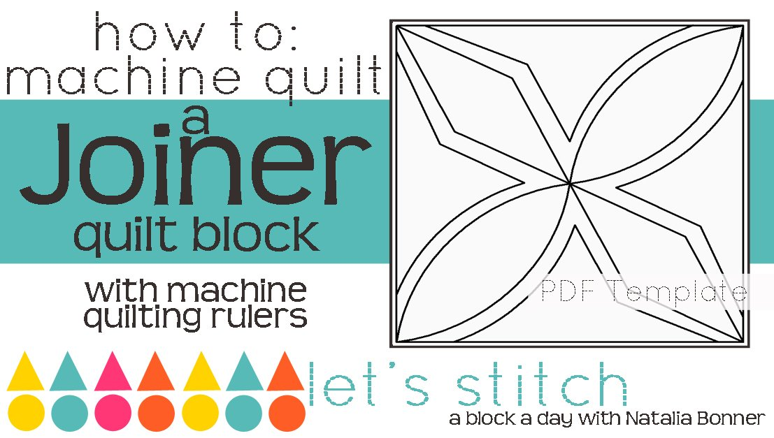 Let's Stitch - A Block a Day With Natalia Bonner - PDF - Joiner