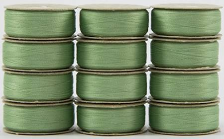 Super Bobs - The Bottom Line Bobbins - L Style - Light Green - 12ct