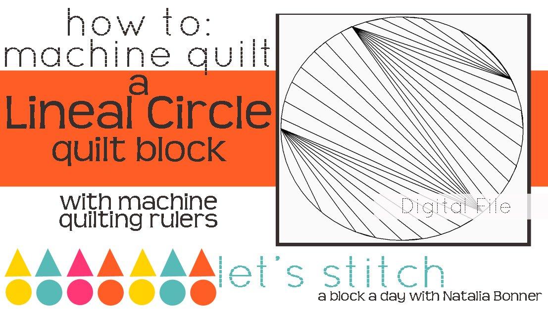 Lineal Circle 6 Block - Digital