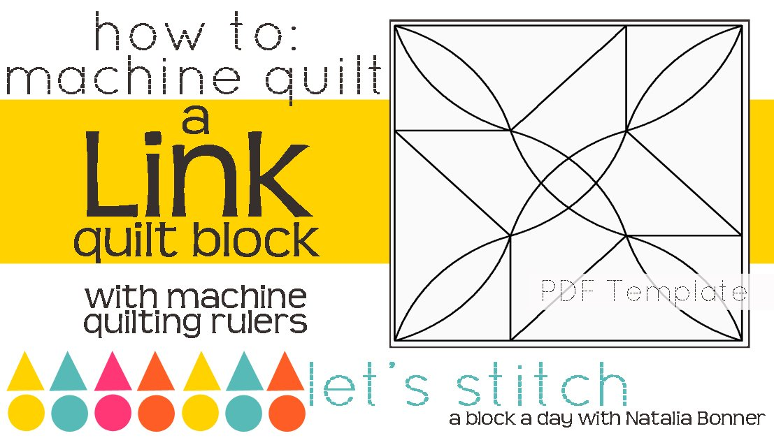 Let's Stitch - A Block a Day With Natalia Bonner - PDF - Link
