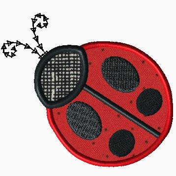Little Ladybug Applique