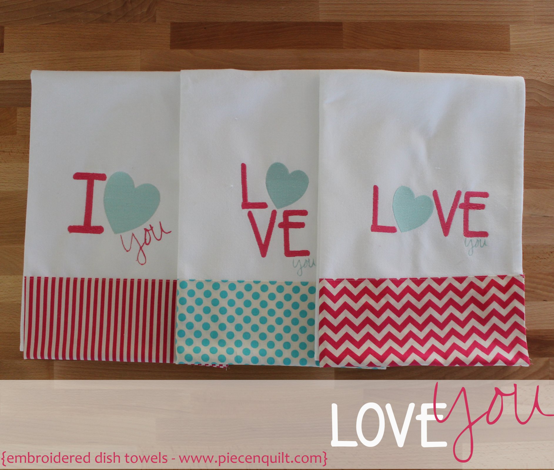 Love You Embroidery2