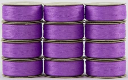 Super Bobs - The Bottom Line Bobbins - L Style - Light Purple - 12ct