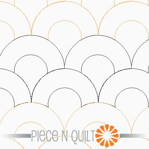 Macaroni Pantograph Pattern - Digital