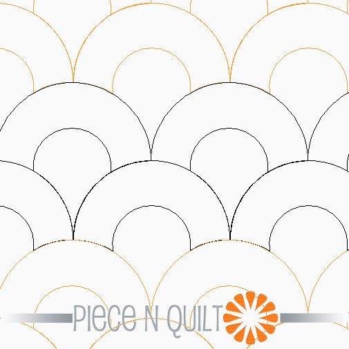 Macaroni Pantograph Pattern - Paper