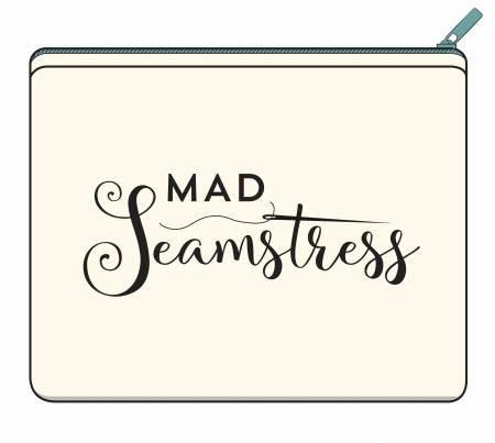 Canvas Zipper Bag Small Mad Seamstress