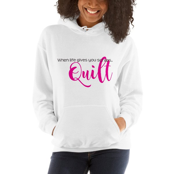 When Life Gives You Scraps.. - Unisex Hooded Sweatshirt