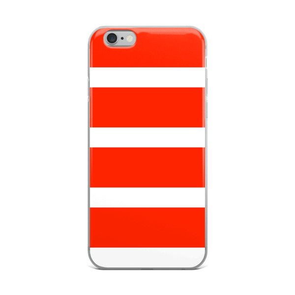 Red Stripes Phone Case - For Samsung or Iphone
