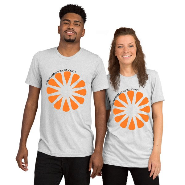 Unisex Triblend Short Sleeve T-Shirt with Tear Away Label