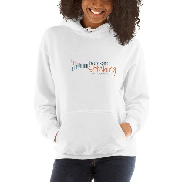 Let's Get Stitching - Unisex Hooded Sweatshirt
