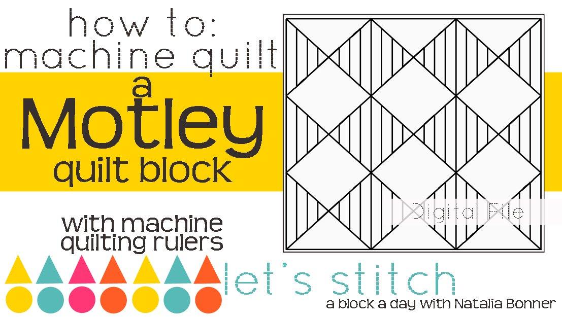 Motley 6 Block - Digital