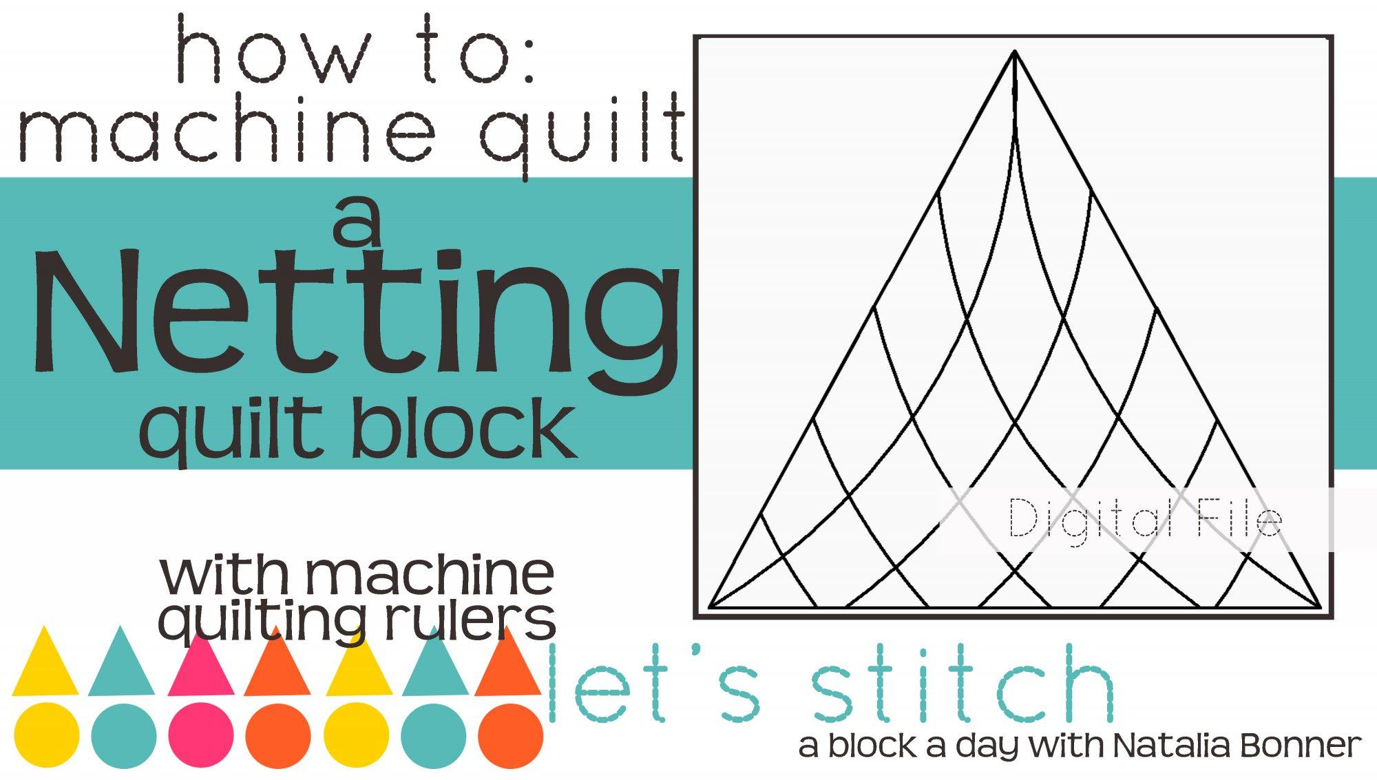 Netting 6 Block - Digital