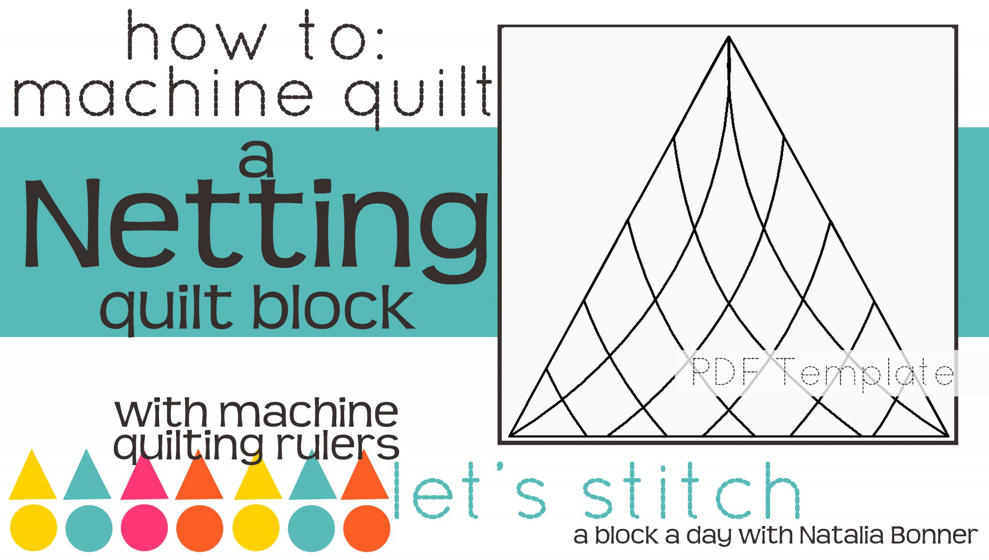Let's Stitch - A Block a Day With Natalia Bonner - PDF - Netting