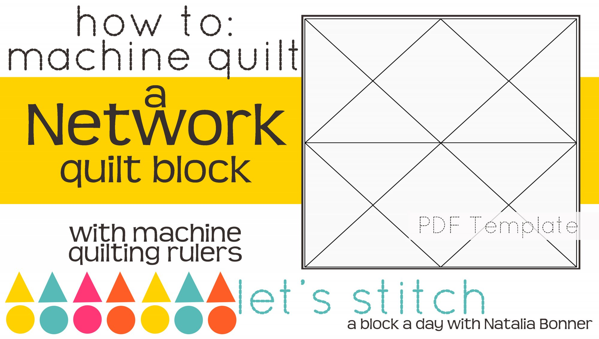 Let's Stitch - A Block a Day With Natalia Bonner - PDF - Network