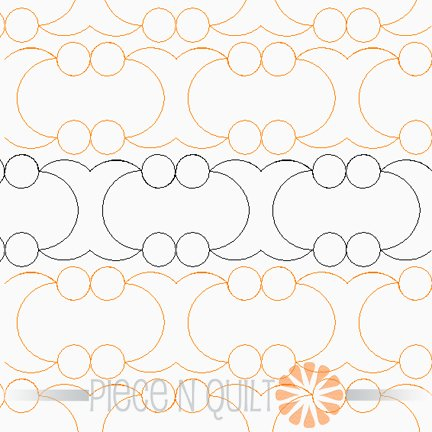 Night Sky Pantograph Pattern - Digital