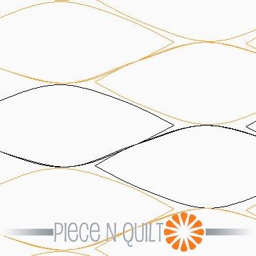 Opal Pantograph Pattern - Paper