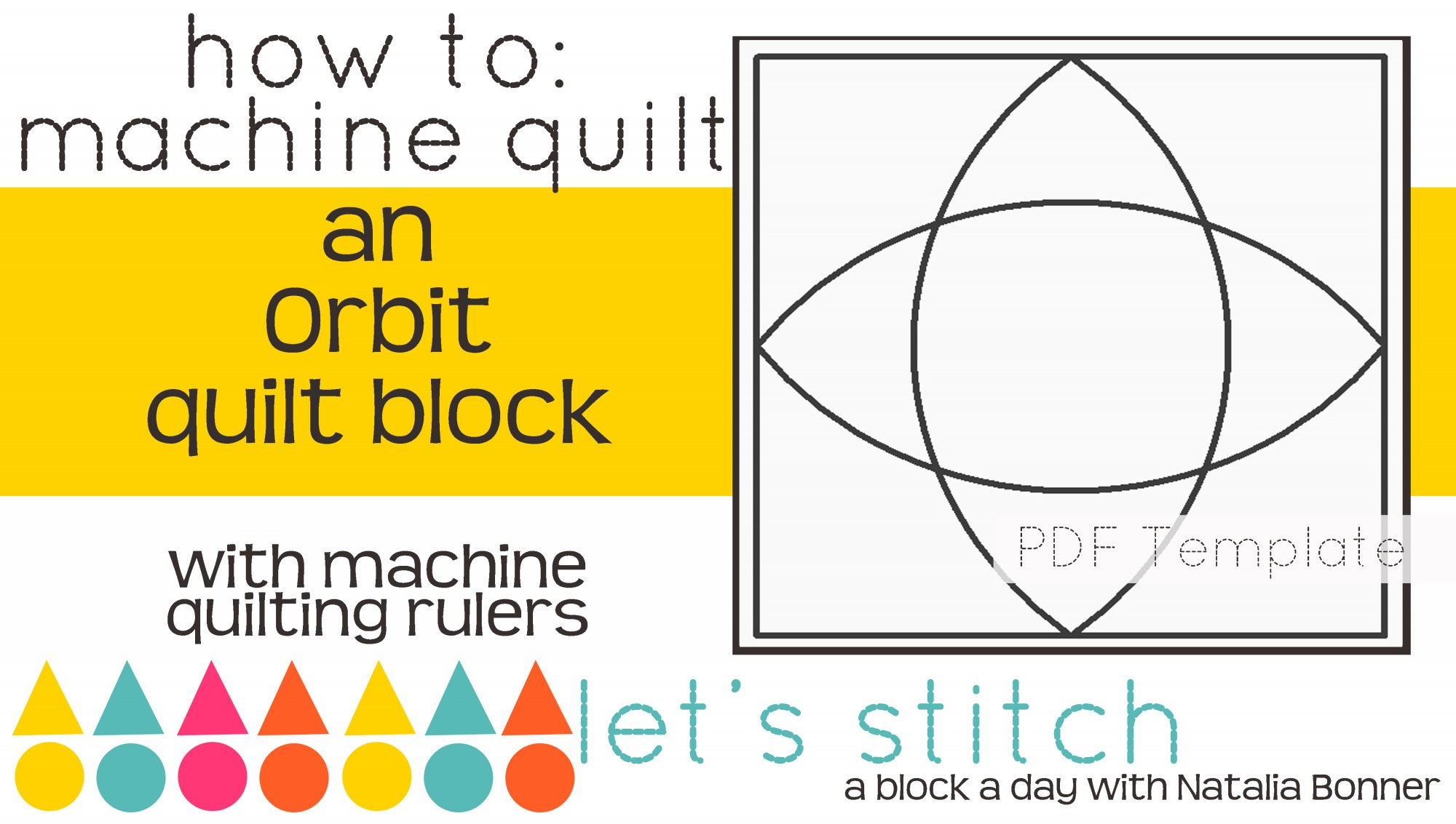 Let's Stitch - A Block a Day With Natalia Bonner - PDF - Orbit