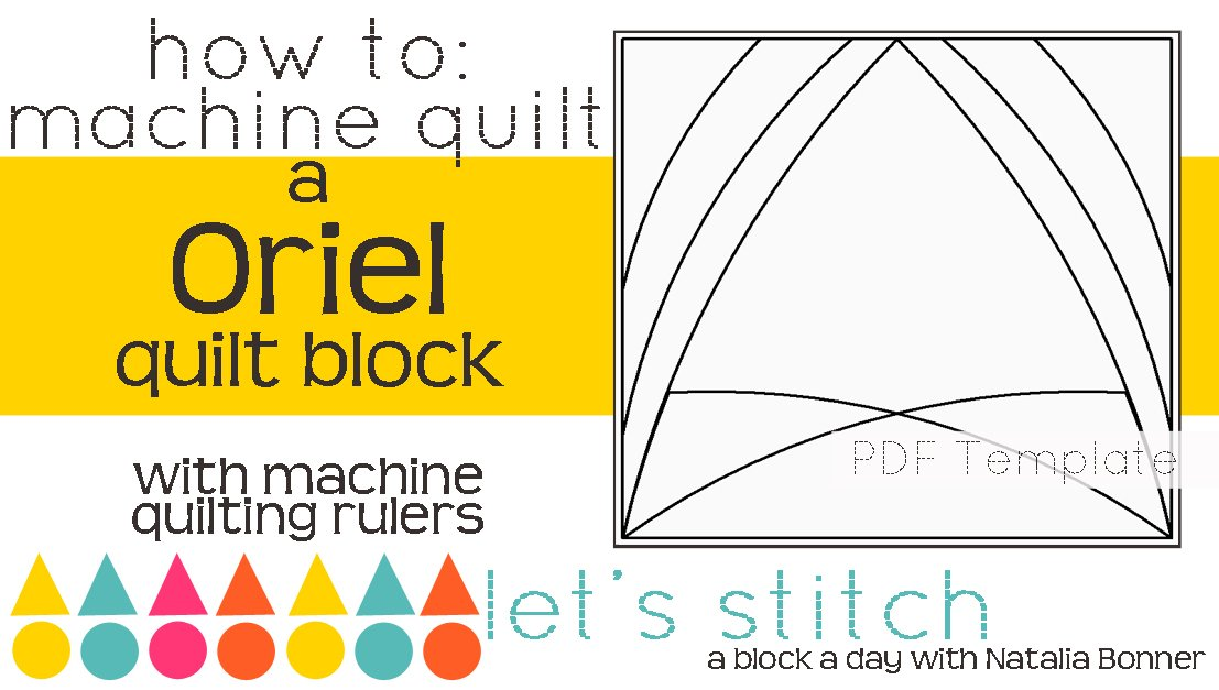 Let's Stitch - A Block a Day With Natalia Bonner - PDF - Oriel