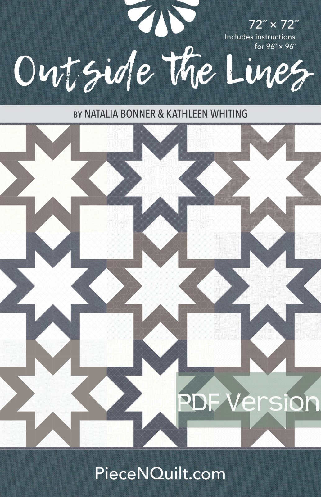Outside the Lines  Pattern - PDF Version