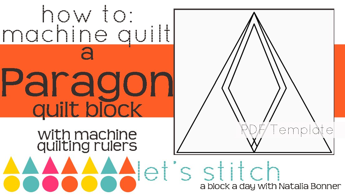 Let's Stitch - A Block a Day With Natalia Bonner - PDF - Paragon