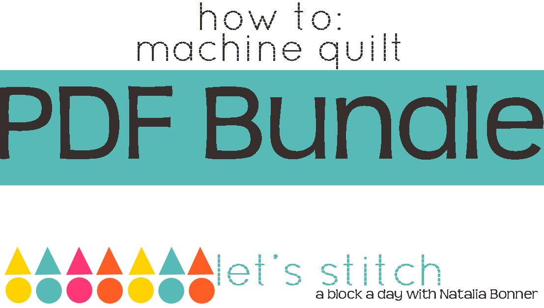 Let's Stitch - A Block a Day With Natalia Bonner - PDF Bundle